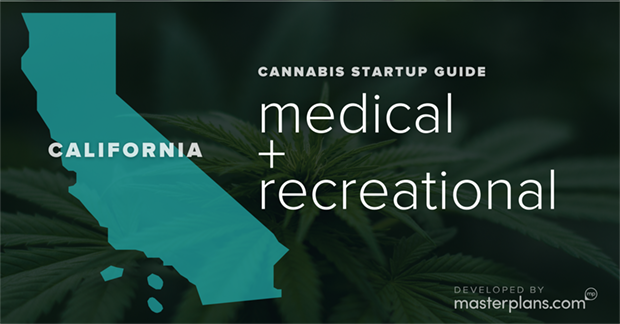 California medical and recreational cannabis business startup guide and planning banner