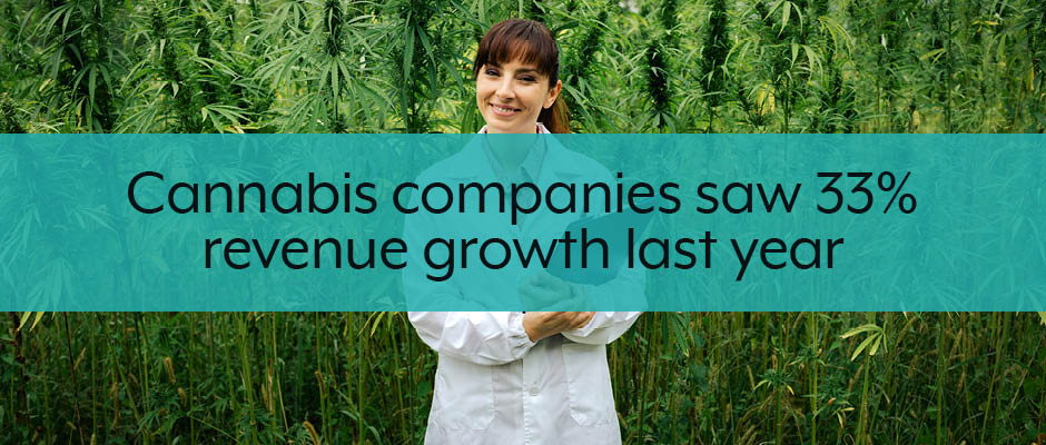 marijuana business 2019 revenue growth