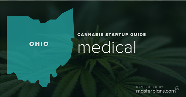 Ohio medical and recreational cannabis business startup guide and planning banner