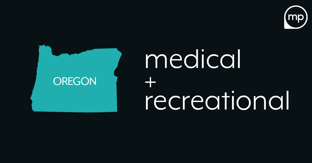 Oregon medical and recreational cannabis business startup guide and planning banner
